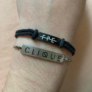 Jewelry - Twenty One Pilots CLIQUE and FPE bracelets